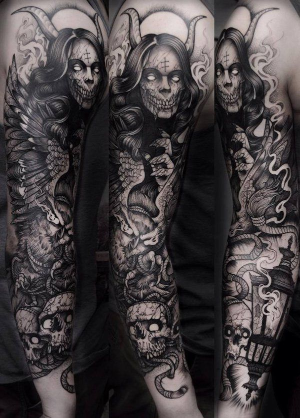 150+ Great Sleeve Tattoos and Selecting Designs 107