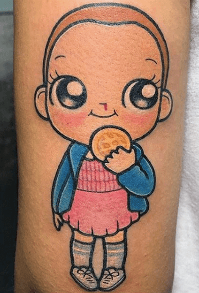 Stranger Things Tattoos - An Introduction To 12 Characters 15