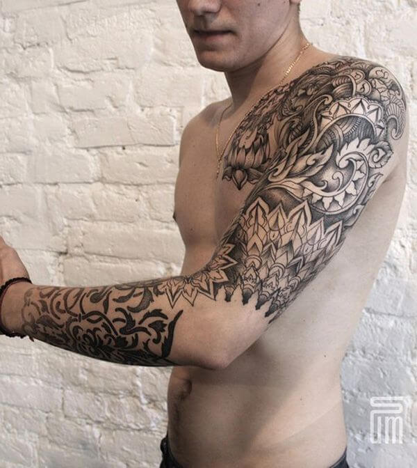 150+ Great Sleeve Tattoos and Selecting Designs 89