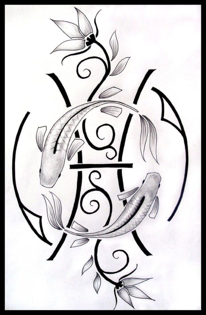 Top 35 Epic Pisces Tattoos 13