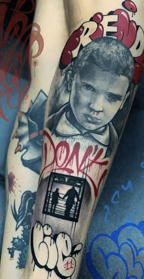 Stranger Things Tattoos - An Introduction To 12 Characters 17