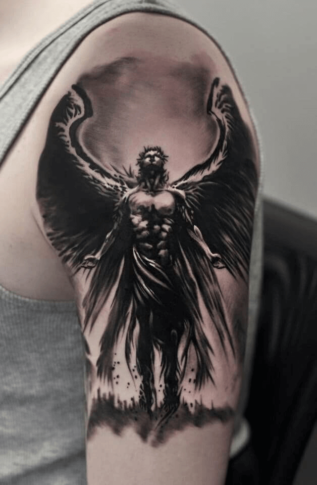 How to Reinvent the Ordinary Angel Tattoo 10