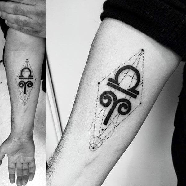 Celtic Tattoo Designs for Libra