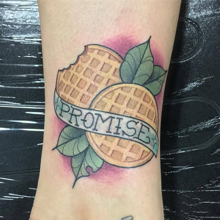 Erica stranger things tattoo