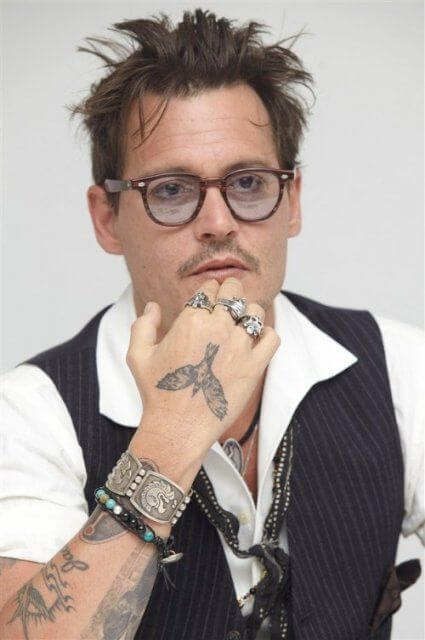 Johnny-Depp-tattoos-Crow