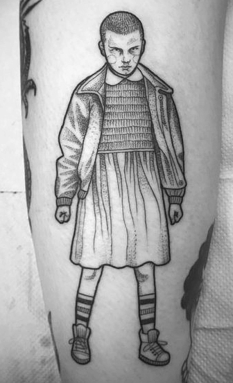 Stranger Things Tattoos - An Introduction To 12 Characters 31