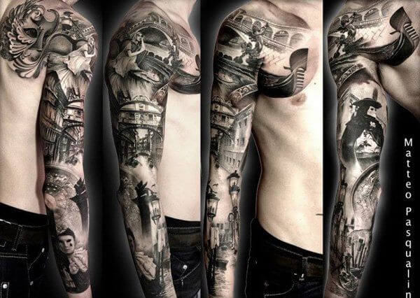 150+ Great Sleeve Tattoos and Selecting Designs 40