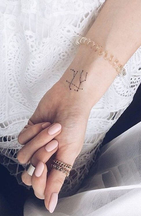 Amazing 58 Ideas for Gemini Tattoos 15