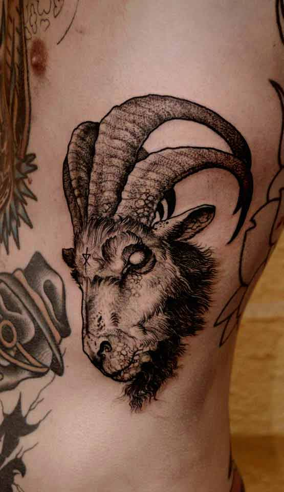 70 Lovely Capricorn Zodiac Tattoos - With Gallery 5