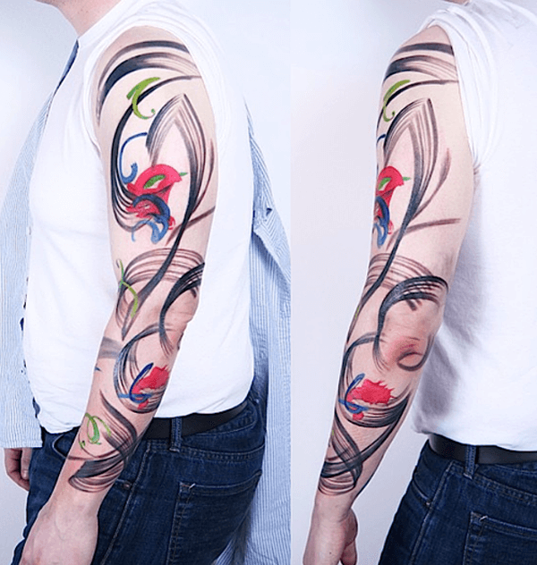 150+ Great Sleeve Tattoos and Selecting Designs 38