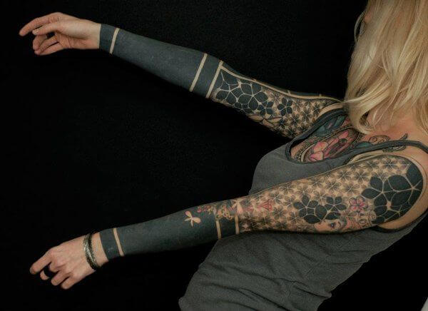 150+ Great Sleeve Tattoos and Selecting Designs 32