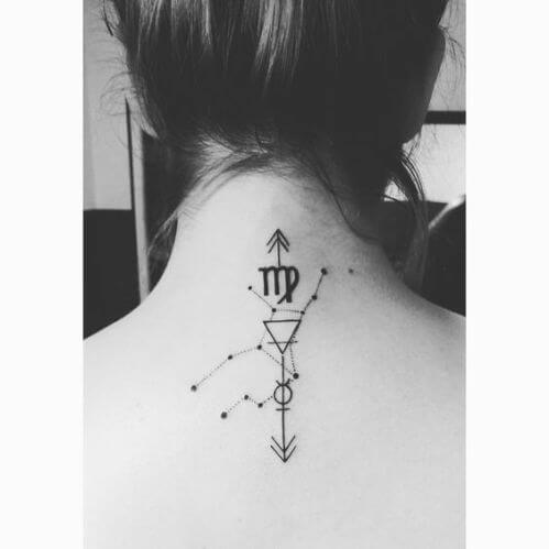 70 Lovely Capricorn Zodiac Tattoos - With Gallery 19