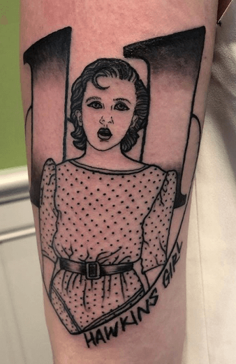 Stranger Things Tattoos - An Introduction To 12 Characters 36