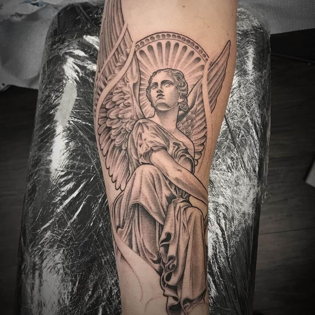 How to Reinvent the Ordinary Angel Tattoo 15