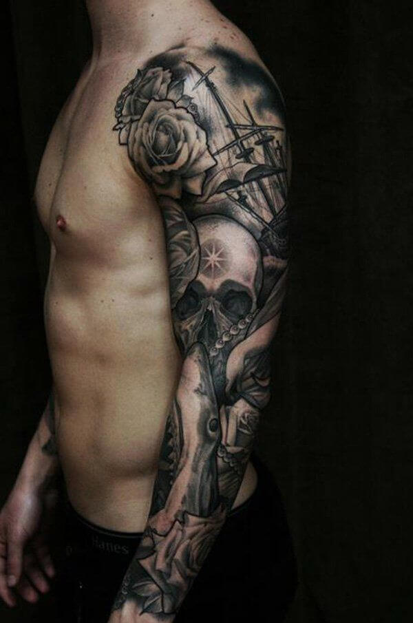 150+ Great Sleeve Tattoos and Selecting Designs 26