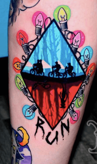 Stranger Things Tattoos - An Introduction To 12 Characters 37