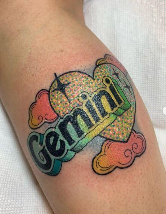 Amazing 58 Ideas for Gemini Tattoos 21