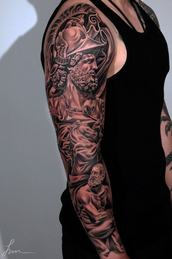 150+ Great Sleeve Tattoos and Selecting Designs 9