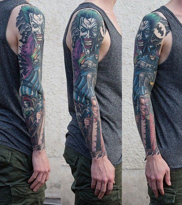 150+ Great Sleeve Tattoos and Selecting Designs 5