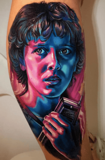 Stranger Things Tattoos - An Introduction To 12 Characters 41