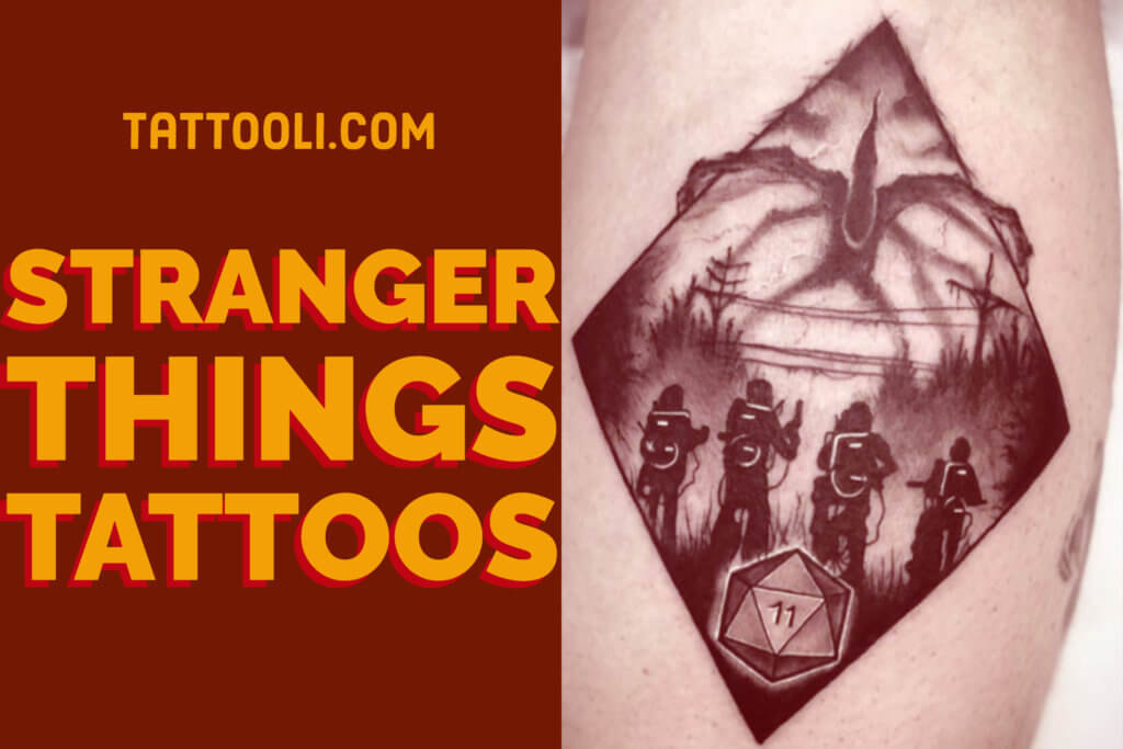 Stranger Things Tattoos - An Introduction To 12 Characters 1