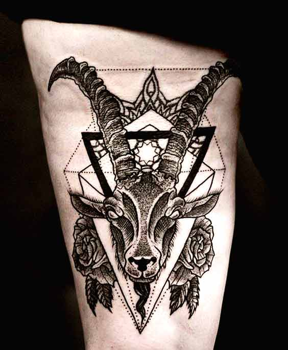 70 Lovely Capricorn Zodiac Tattoos - With Gallery 9