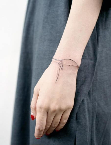 Clean Wrist Tattoos For Girls