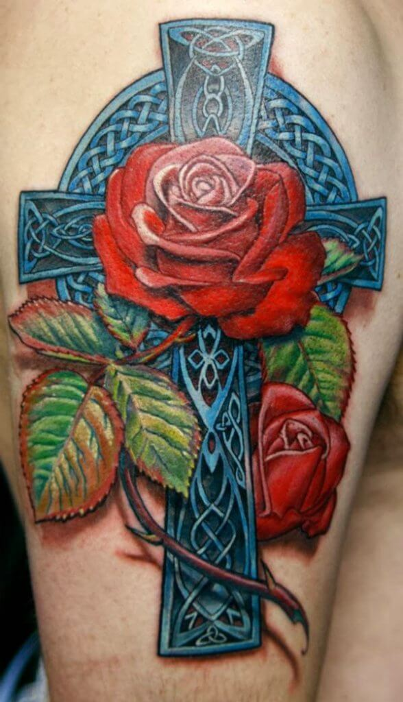 Celtic Rose Tattoo