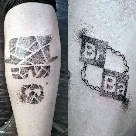 Breaking Bad Logo Tattoo