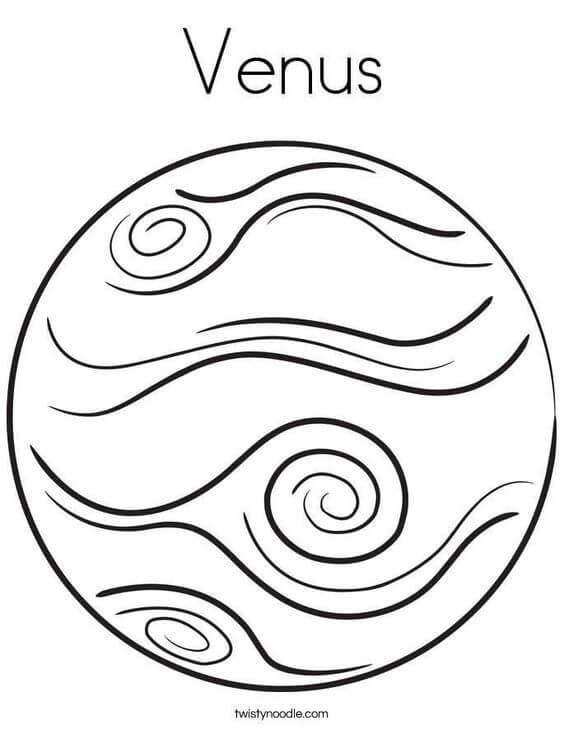 Venus Tattoo Planet