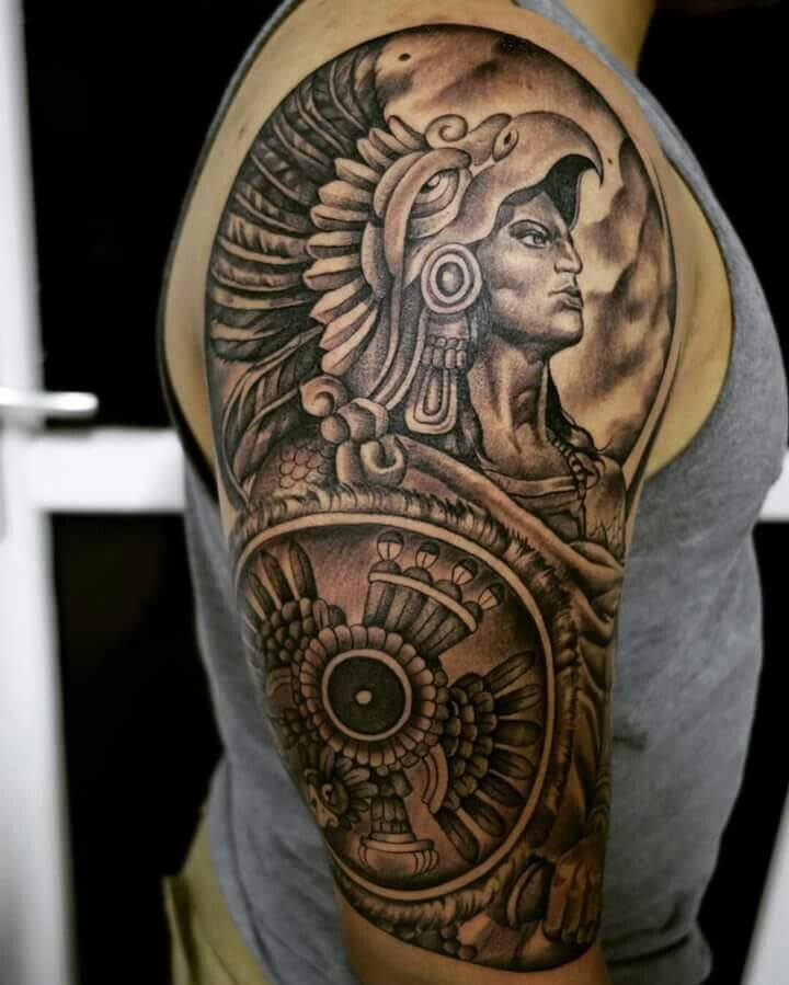 Inca Warrior Tattoo