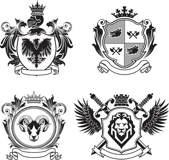 German Coat Of Arms Tattoo